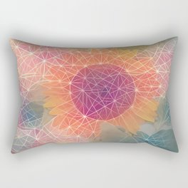 Sunflower Constellation Rectangular Pillow