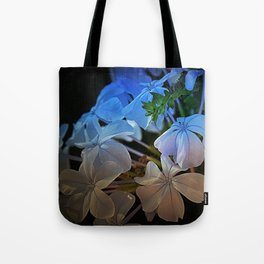 Plumbago at Sunset Tote Bag