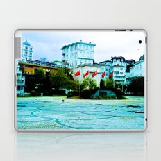 The entrance to the island. Laptop & iPad Skin