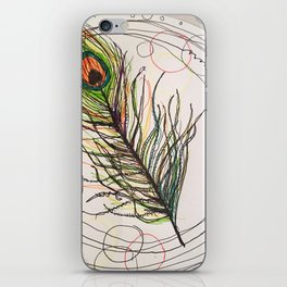 Simple Feather iPhone Skin