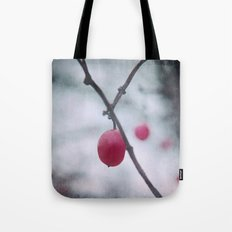 Lonely Winterberry Tote Bag