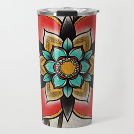 The flowers that be Travel Mug
