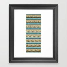 navajo pattern 3 Framed Art Print