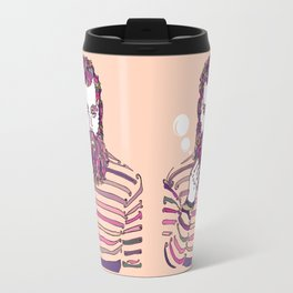 Sea Wolf Ghost (Red Version) Travel Mug
