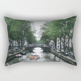Canal Cruise Rectangular Pillow
