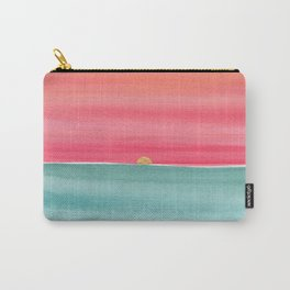#83. ANNE MARIE - Sunset Carry-All Pouch