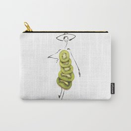 Edible Ensembles: Kiwi Carry-All Pouch