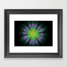 Sonic Bloom Framed Art Print