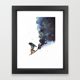 Face Forward Framed Art Print