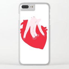 ponme la mano aquí Clear iPhone Case