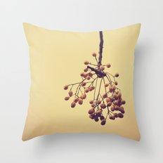Autumn life (IV) Throw Pillow