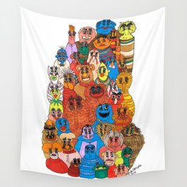 moppets Wall Tapestry
