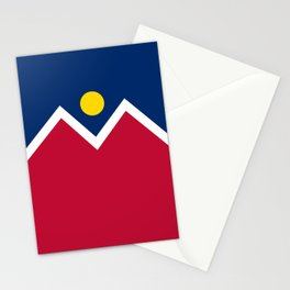 Denver, Colorado city flag - Authentic High Quality Stationery Cards