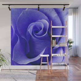 Blue ROSE Wall Mural