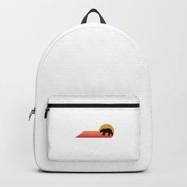 Polar Bear Animal Retro Vintage Style Gift Idea Backpack