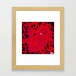 01 - RED GIRL Framed Art Print