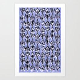 Lavender Taj Art Print