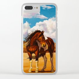 Into The Wide Clear iPhone Case