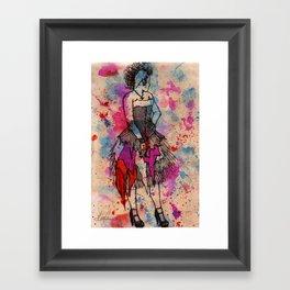 Punkd Framed Art Print