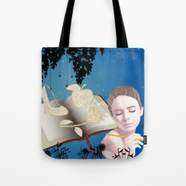 Fairytale Book Writer Tote Bag