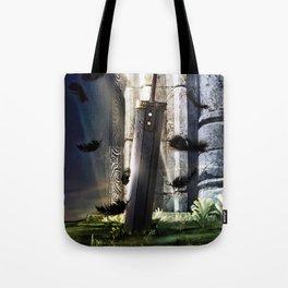 A Hero's sword Tote Bag