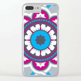 Chilean Flower Clear iPhone Case