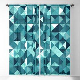 Lovely Geometric Background IV Blackout Curtain