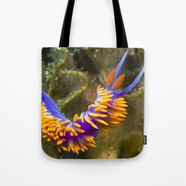 Spanish Shawl Nudibranch Tote Bag