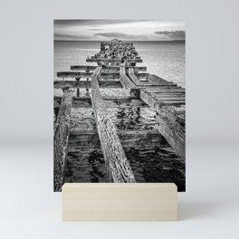 Derelict Pier Mini Art Print