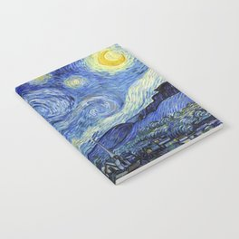 Starry Night by Vincent Van Gogh Notebook