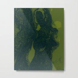 green all over...nature run wild Metal Print