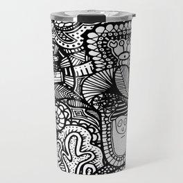 Under the Sea Doodle Travel Mug