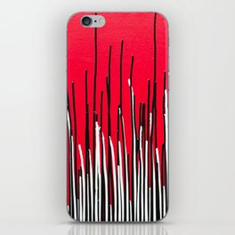 Piano Grass iPhone Skin