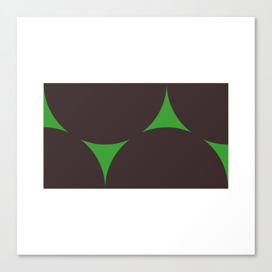 #210 Dark matter – Geometry Daily Canvas Print