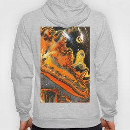 Swirled Orange Stones Hoody