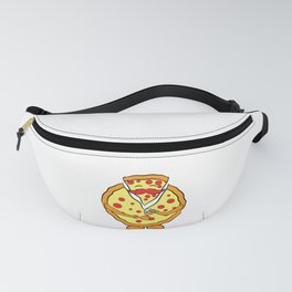 """""""Unzip the pizza"""" tee design. Perfect gift for Pizza lovers like you and your friends and family!  Fanny Pack"""