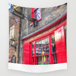 The Anchor Pub London Wall Tapestry