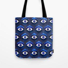 Eyes / Blue Tote Bag