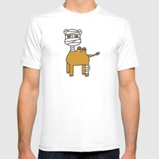 Bandage Camel Mens Fitted Tee White SMALL