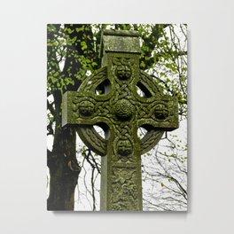 Celtic Cross at Monasterboice Metal Print