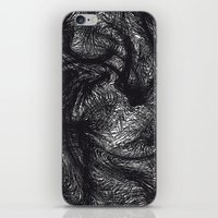furry iPhone & iPod Skins featuring furry swirl by Matthias Hennig