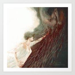 Forest of Glass II Art Print