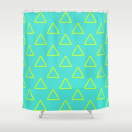 many triangles Shower Curtain