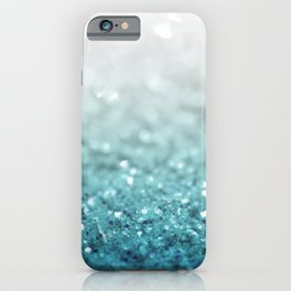 MERMAID GLITTER - MERMAIDIANS AQUA iPhone Case