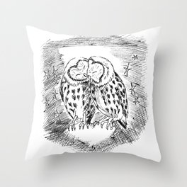 when in love, you share it, wear it, live on it, and everything sparkles! Throw Pillow