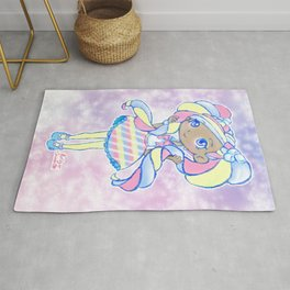 Cute Kawaii Marsha Mello Shopkins Shoppies Doll Art Rug