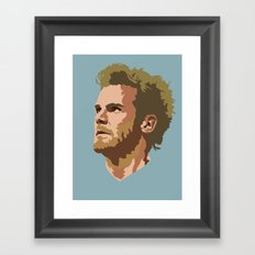 Juan Mata Framed Art Print