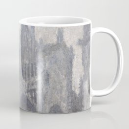 The Cathedral in Rouen. The portal, Grey Weather Coffee Mug