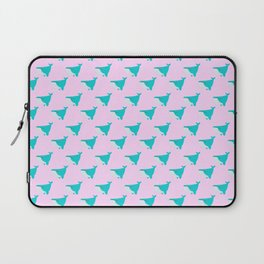 Blue and Pink Whales Laptop Sleeve