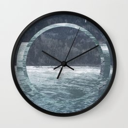 Snoho Rivrr Wall Clock